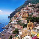 Italy. Campania. Sorrento Peninsula. Amalfi Coast (World Heritage Site). Positano. General view ® Fototeca 9x12 - © Gräfenhain Günter
